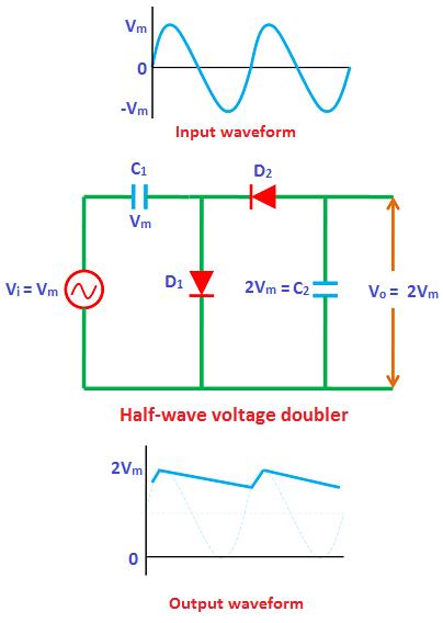 Tremendous Voltage Multiplier Voltage Doubler Voltage Tripler Voltage Wiring Digital Resources Indicompassionincorg